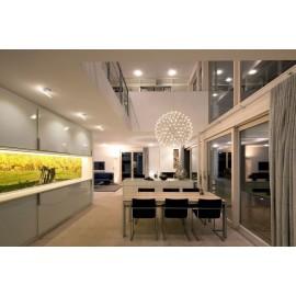 Massiv Douglas Planker. Select. Dim. 28 x 250 mm. Længde: 7,5 til 9 meter. Ubehandlet.