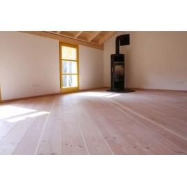 Pur Natur. Massiv Douglas Planker. Select. Dim. 28 x 350 mm. Længde: 7,5 til 9 meter. Ubehandlet.