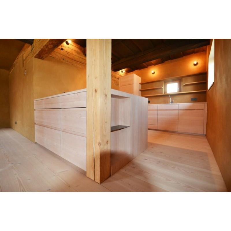 Pur Natur. Massiv Douglas Planker. Select. Dim. 28 x 350 mm. Længde: 9,5 til 12 meter. Ubehandlet.