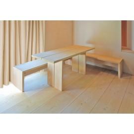 Pur Natur. Massiv Douglas Planker. Select. Dim. 35 x 350 mm. Længde: 12,5 til 15 meter. Ubehandlet.