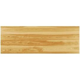 20,5 mm Massiv Mørk Ask Planker. Bredde 140 mm. Classic. Lakeret.