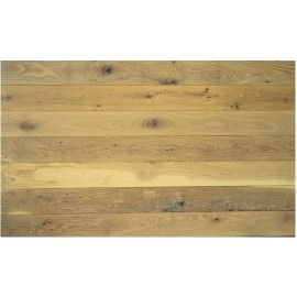 Junckers. 15 mm Massiv Eg Nordic Planker. Bredde 129 mm. Variation. Ultramat.