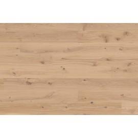 Berg & Berg. Lamel Eg Plank. Lively. Børstet. Spar. Dim. 14 x 195 x 2390 mm. Hvid olie.