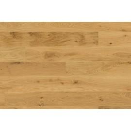 Berg & Berg. Lamel Eg Plank. Lively. Børstet. Spar. Dim. 14 x 195 x 2390 mm. Mat lak.