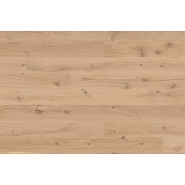 Berg & Berg. Lamel Eg Plank. Lively. Børstet. Spar. Dim. 14 x 195 x 2390 mm. Hvid mat lak.
