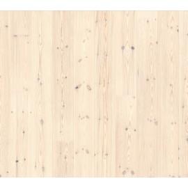 Berg & Berg. Lamel Nordlandsfyr. Spar. Børstet. Dim. 14 x 195 x 2390 mm. Ekstra hvid olie.