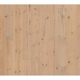 Berg & Berg. Lamel Nordlandsfyr. Spar. Dim. 14 x 195 x 2390 mm. Grå olie.
