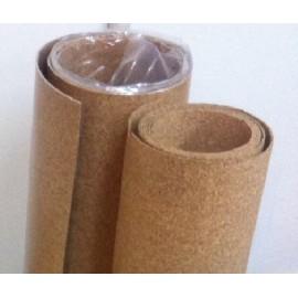 3 mm. Akustik Kork med dampspærre. Rulle størrelse 1 x 10 meter.