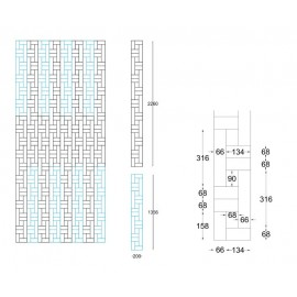 WASHUUS Design. Lamel Eg Fletparket. Seon. Select. Dim. 22 x 200 x 3616 mm. Natur matlak.
