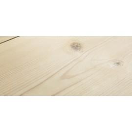 Siljan. Massiv Fyr Planker. Frost. Dim. 25 x 162 mm. Hårdvoksolie Hvid.