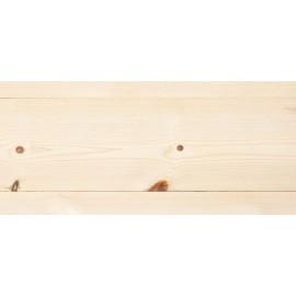 Siljan. Massiv Fyr Planker. Frost. Dim. 25 x 187 mm. Hårdvoksolie Hvid.