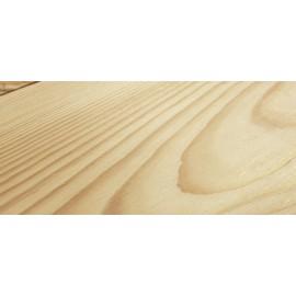 Siljan. Massiv Fyr Planker. Ice. Børstet. Dim. 20 x 137 mm. Hårdvoksolie Natur.