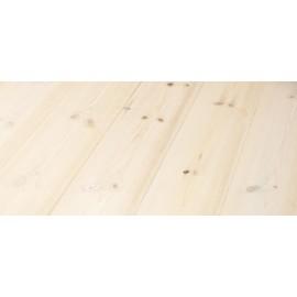 Siljan. Massiv Fyr Planker. Snow. Børstet. Dim. 30 x 187 mm. Hårdvoksolie X-Hvid.