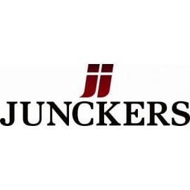 Junckers. Bøjler til montering af 14, 20,5 og 22 mm. (Gul). Kasse a 250 stk.