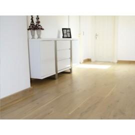 Dansk Eg Planker. Massiv. Natur. Dim. 22 x 160 mm. Ubehandlet.