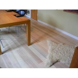 Dansk Ask Planker. Massiv. Select. Dim. 22 x 130 mm. Ubehandlet.