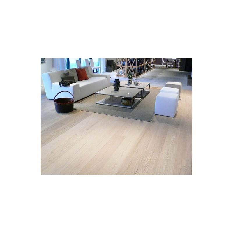 PA Gulve. Amrk. Hvid Eg Planker. Massiv. Select. Dim. 20 x 180 mm. Ubehandlet.