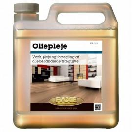 Faxe Woodcare. Oliepleje Natur til daglig vask af olierede gulve.