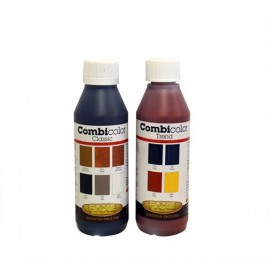 Mørk Mahogni. Combicolor. Jordfarvesystem til indfarvning af træ.