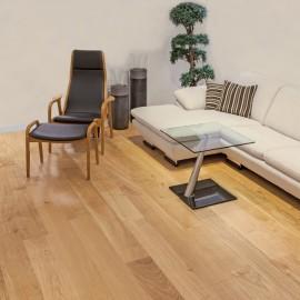 Wiking Gulve. Lamel Eg Planker. Dim. 22 x 185 mm. Natur matlak.