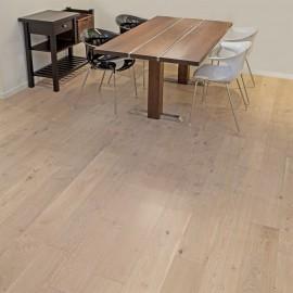 Wiking Gulve. Lamel Eg Planker. Dim. 15 x 185 mm. Hvid matlak.