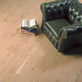 Lamel Eg Planker. Prestige Atlantic. Dim. 22 x 235 mm. Hvid matlak.