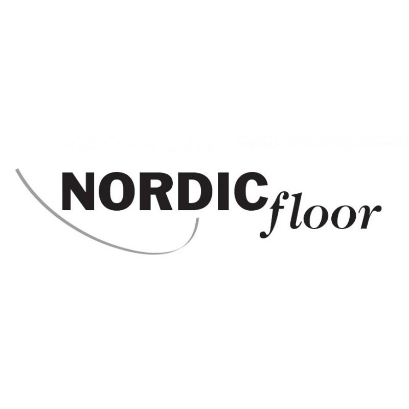 Nordic Floor. Bambus lamelplank. Natur. Dim. 15 x 189 x 1860 mm. Hvid matlak.