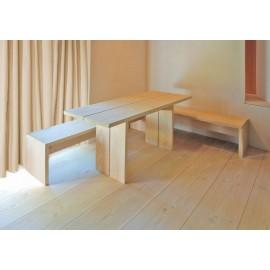 Pur Natur. Lamel Douglas Planker. Natur. Dim. 21 x 450 mm. Længde: 5,5 til 7 meter. Ubehandlet.