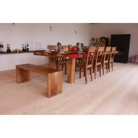 Lamel Douglas Planker. Natur. Dim. 21 x 450 mm. Længde: 7,5 til 9 meter. Ubehandlet.
