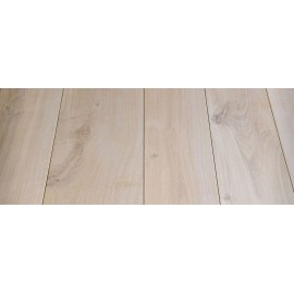 Massiv Eg Planker. Select. Dim. 30 x 300 mm. Længde: 3 til 4,5 meter. Ubehandlet.