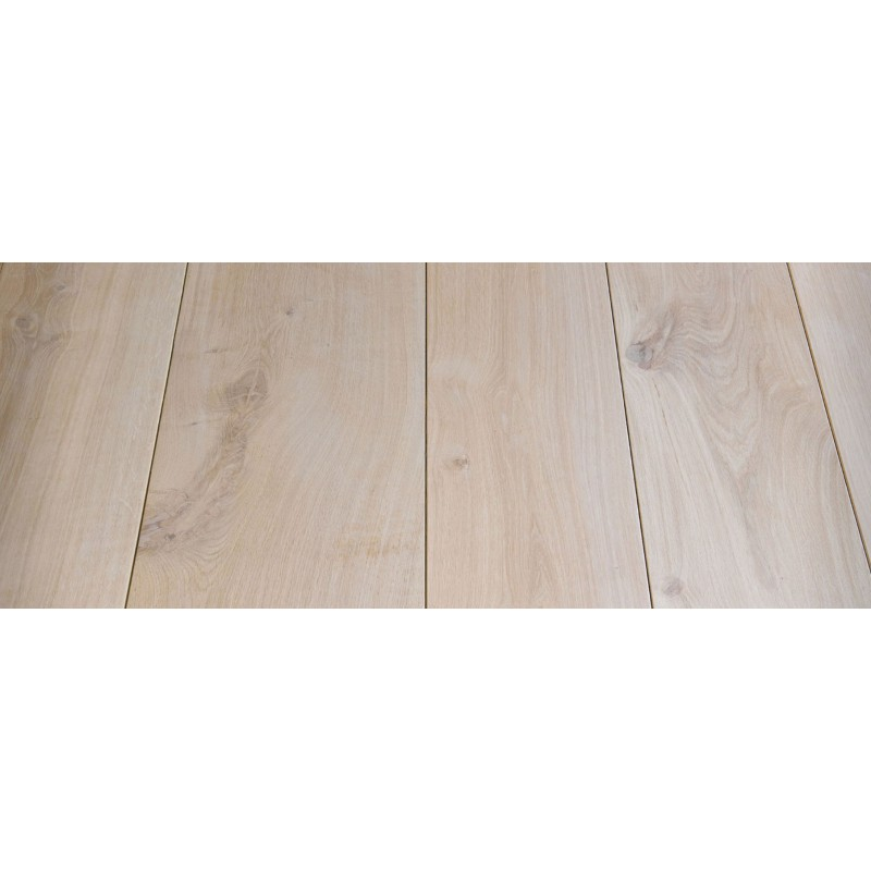 Massiv Eg Planker. Natur. Dim. 22 x 200 mm. Længde: 5 til 6 meter. Ubehandlet.