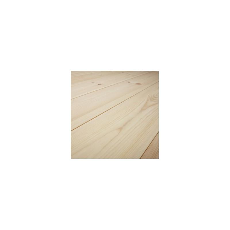 CLASSIC. Massiv Fyr Planker. Økonomi. Dim. 14 x 113 mm. Natur behandlet.