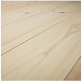 Baseco Golv. CLASSIC. Massiv Fyr Planker. Økonomi. Dim. 25 x 135 mm. Natur behandlet.