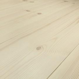 Baseco Golv. MODERN. Massiv Fyr Planker. Økonomi. Dim. 20 x 135 mm. Natur behandlet.
