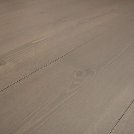 Baseco Golv. MODERN. Massiv Fyr Planker. Standard. Dim. 30 x 180 mm. Grå behandlet.