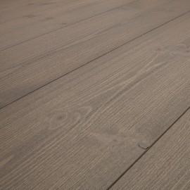 PATINA. Massiv Fyr Planker. Standard. Børstet. Dim. 25 x 180 mm. Grå behandlet.