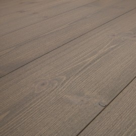 Baseco Golv. PATINA. Massiv Fyr Planker. Standard. Børstet. Dim. 30 x 180 mm. Grå behandlet.