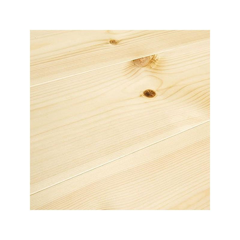 Baseco Golv. ANTIK. Massiv Fyr Planker. Standard. Børstet. Dim. 14 x 113 mm. Natur Mat lak behandlet.