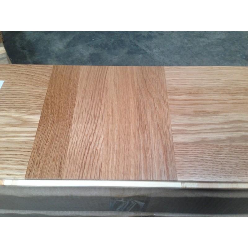 Lamel Eg 3 stav. Hollandsk Mønster. 4 stave på tværs. Murten. Select. Dim. 22 x 196 x 3048 mm. Natur matlak.