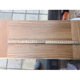 Lamel Eg 3 stav. Hollandsk Mønster. 4 stave på tværs. Liestal. Select. Dim. 22 x 196 x 3048 mm. Natur matlak.