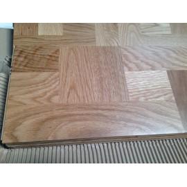 WASHUUS Design. Lamel Eg Fletparket. Laax. Natur. Dim. 22 x 200 x 2724 mm. Natur matlak.