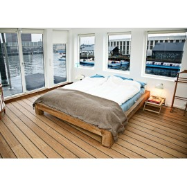 Bambus Skibsplanker. Massiv. Dim. 19 x 150 x 1900 mm. Carboniseret. Ubehandlet.