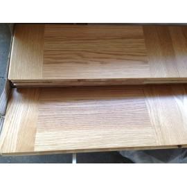 WASHUUS Design. Lamel Eg 3 stav. Hollandsk Mønster. 4 stave på tværs. Gempen. Select. Dim. 22 x 196 x 2360 mm. Natur matlak.