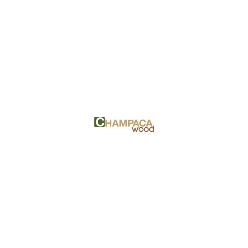 Champaca Wood. Lamel Teak Planker. Dim. 15 mm x 90 x 600-1500 mm. Naturolieret.