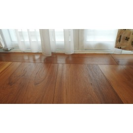 Lamel Teak Planker. Dim. 20 mm x 235 x 1800-3000 mm. OSMO Færdig Naturolie.