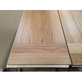WASHUUS Design. Lamel Eg 4 stav. Hollandsk Mønster. 4 stave på tværs. Olten. Select. Dim. 22 x 186 x 3030 mm. Natur matlak.