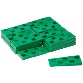 Grøn kile. Str. H. 10 x B. 30 x L. 80 mm. Enkelt stk. køb.