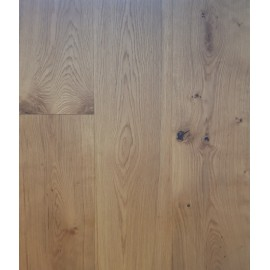Lamel Eg Planker. Dim. 15 x 260 x 2200 mm. Børstet. Faset. Rustic. Natur Matlak.