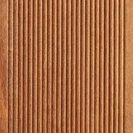 Massiv Cumaru  Terrasseplanker. Dim. 21 x 145 mm. smårillet/glat. Længde: 2150-6050 mm.