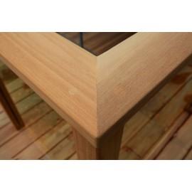 Massiv FSC Teak Terrasseplanker. Dim. 21 x 95 mm. Glat/Glat. Længde: 1800-2040 mm.